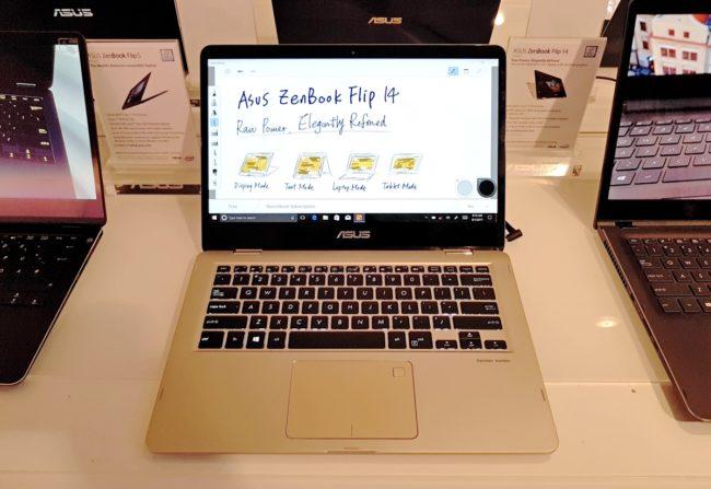Обзор ноутбука Asus ZenBook Flip 14