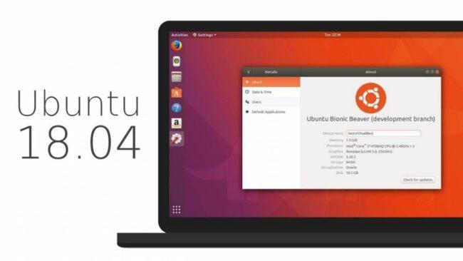 Обзор Ubuntu 18.04 LTS