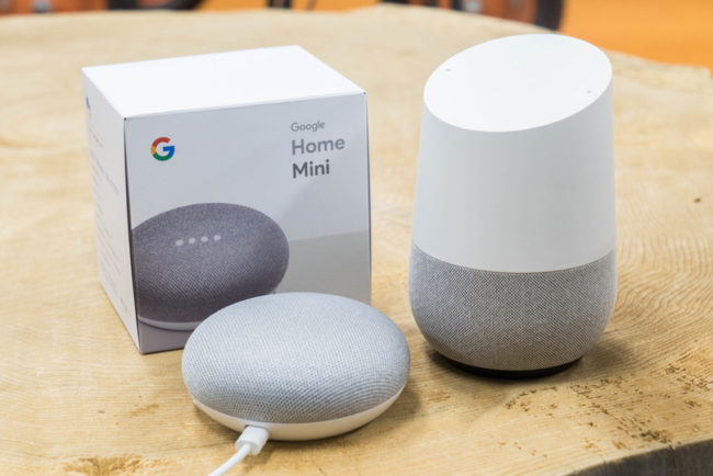 Начинаем работу с Google Home Mini