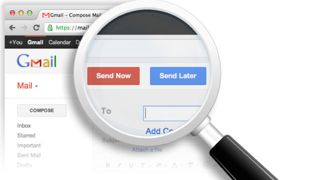 Управление почтой Gmail