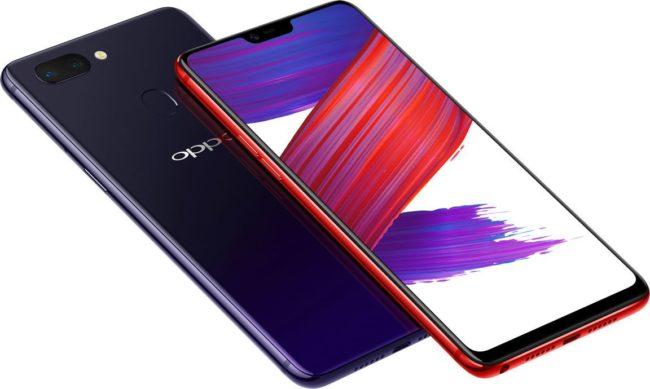 Дизайн OPPO R15 Pro