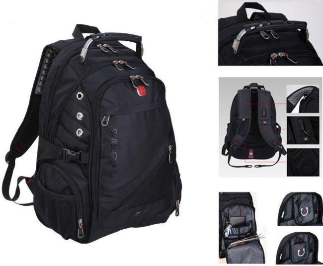 Защищенность рюкзака для ноутбука