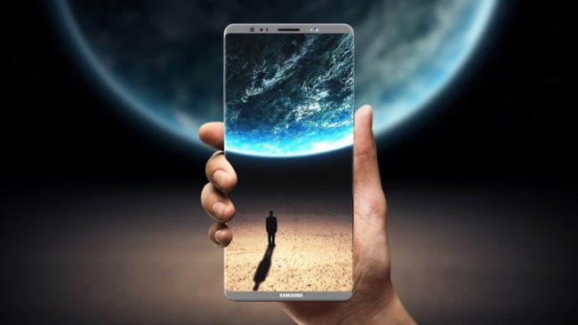 Первый взгляд на Samsung Galaxy Note 9
