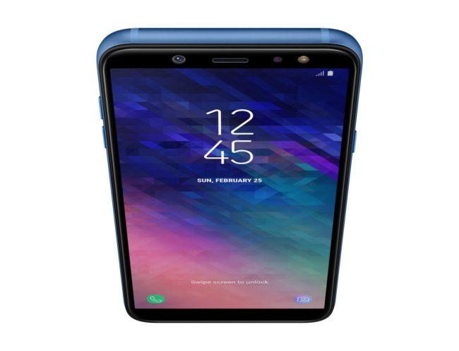 Дизайн Samsung Galaxy A6 (2018)