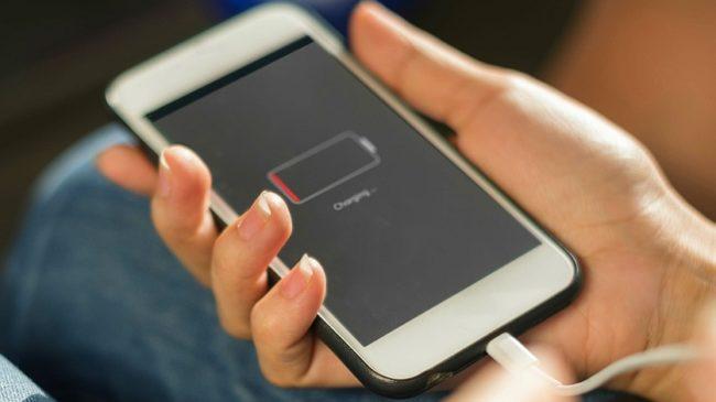Отключение смартфона может повредить батареи
