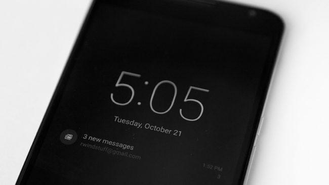Дисплей Ambient в Android Pie теперь показывает уровень погоды и батареи