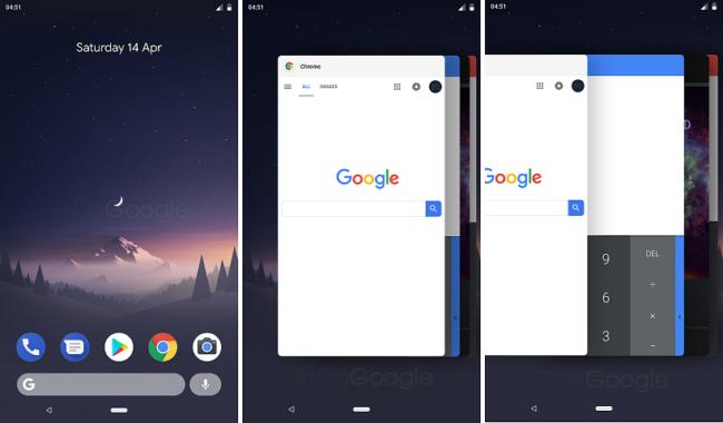 Google добавила кнопку поворота на панель навигации Android 9.0, которая отображается только тогда, когда вам это нужно