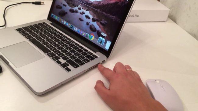 Габариты и дизайн MacBook Pro