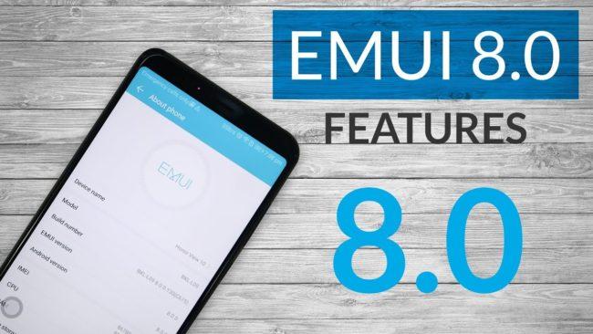 Полезные советы в EMUI 8