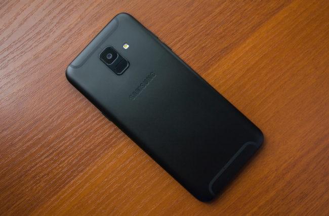 Камера в Samsung Galaxy A6 (2018)