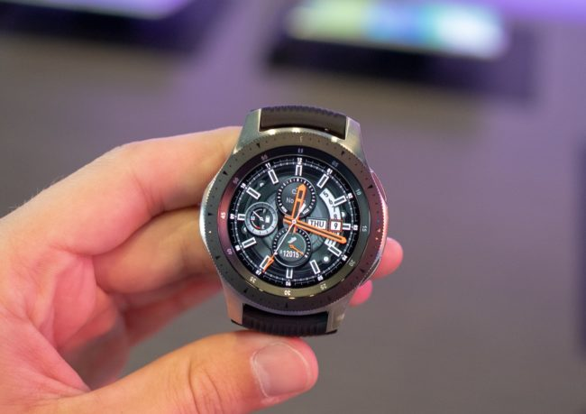 Автономность Samsung Galaxy Watch