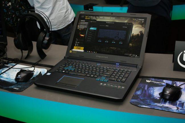 Игры, графика и VR на Acer Predator Helios 500