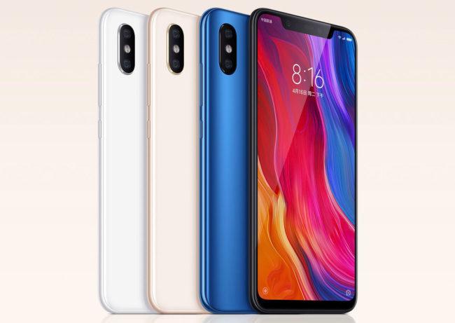 Дизайн Xiaomi Mi8