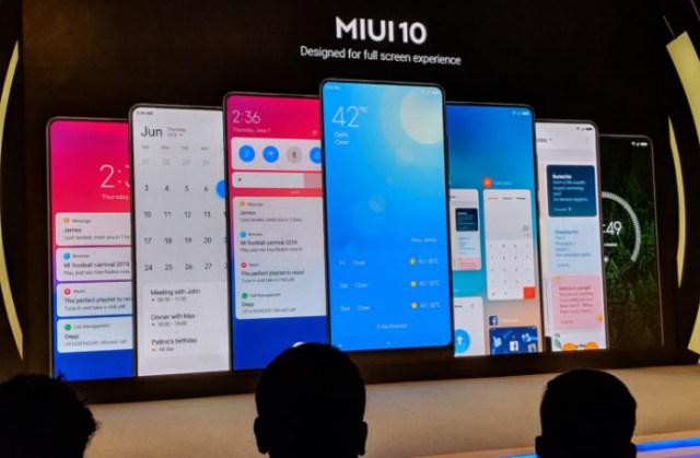 Улучшенная запись экрана в MIUI 10