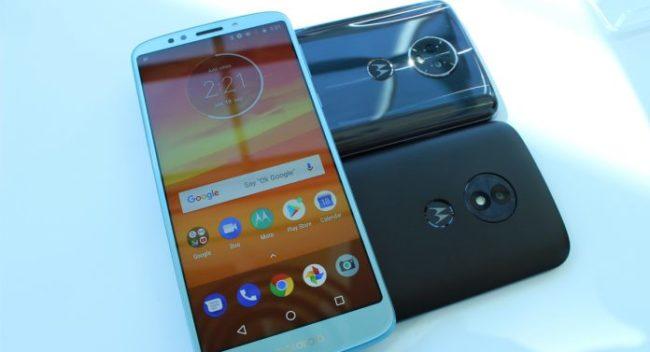 Камера в Motorola Moto E5 Plus