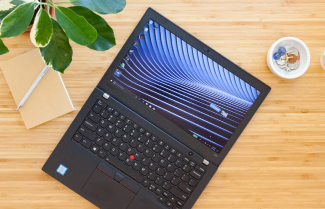 Дизайн Lenovo ThinkPad X280