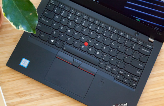 Клавиатура и тачпад в Lenovo ThinkPad X280