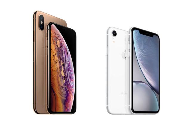 Phone XR vs iPhone XS vs iPhone XS Max - дизайн