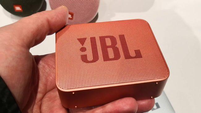 Дизайн JBL Go 2