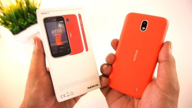 Программного обеспечения Nokia 1