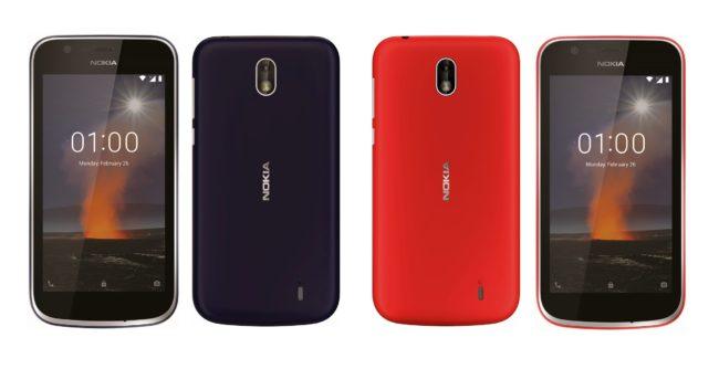 Дизайн Nokia 1