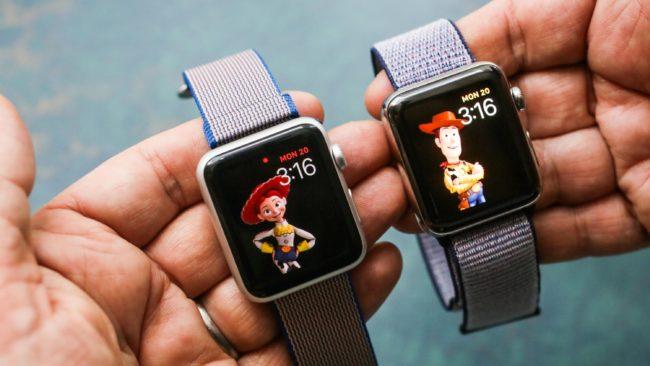Динамики в Apple Watch Series 4