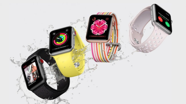 Фитнес функции в Apple Watch Series 4