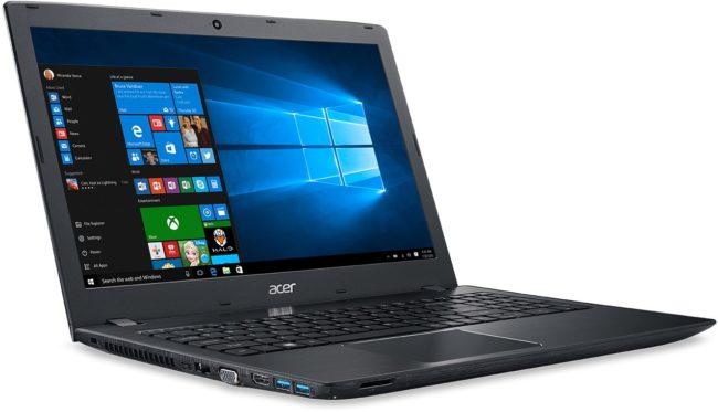 Лучший ноутбук начального уровня - Acer Aspire E 15