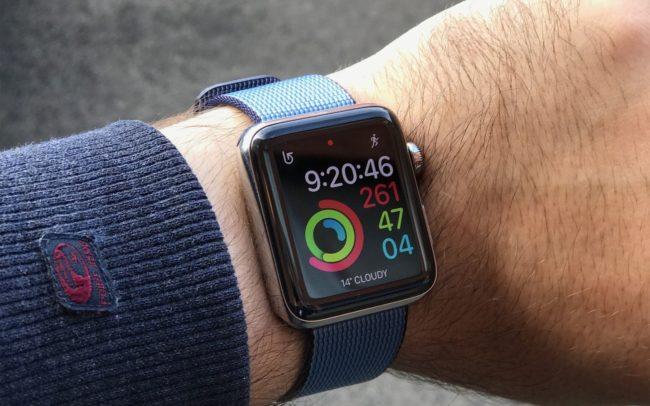 Экран в Apple Watch Series 4