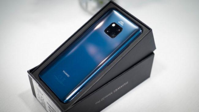 Huawei Mate 20 Pro: программное обеспечение