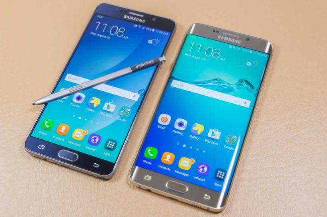 Лучшие телефоны Samsung