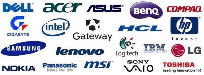 Рейтинг производителей ноутбуков