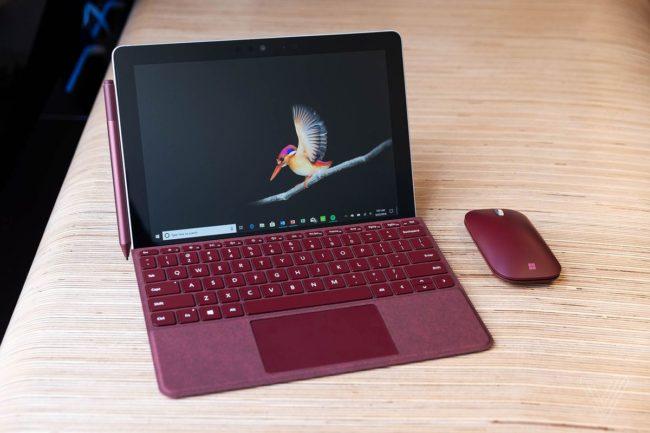 Краткий обзор планшета Microsoft Surface Go