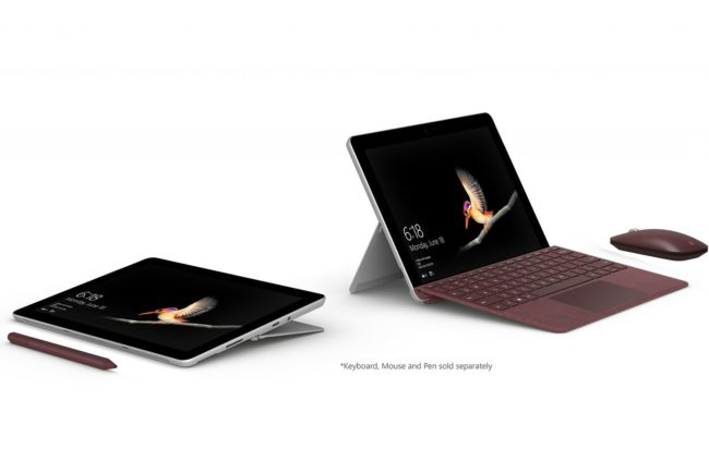 Дисплей и аудио Microsoft Surface Go