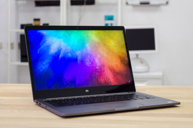 Дизайн Xiaomi Mi Notebook Air 13.3
