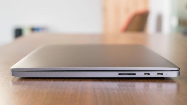 Корпус и связь Xiaomi Mi Notebook Pro
