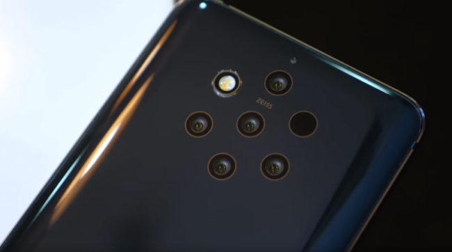 Камера в Nokia 9 PureView