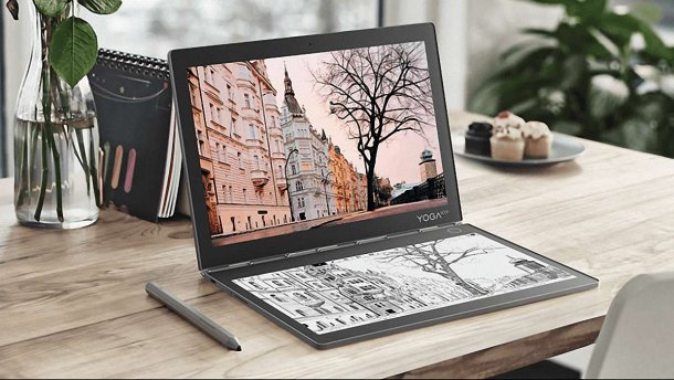 Дизайн Lenovo Yoga Book C930