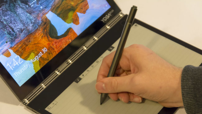 Автономность Lenovo Yoga Book C930