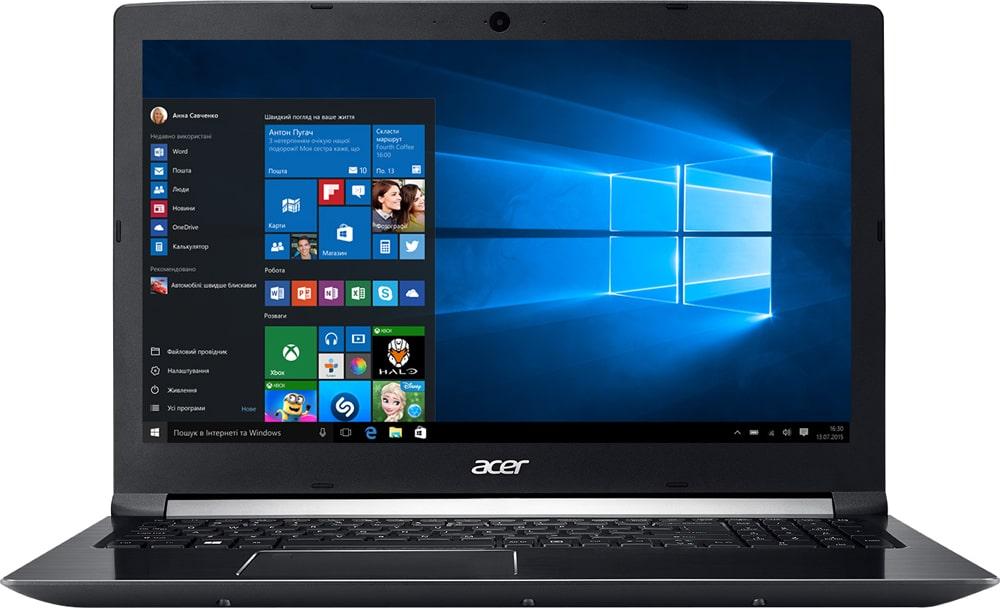 Acer Aspire 7 A715-72G Obsidian Black
