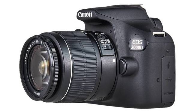Canon EOS 2000D BK 18-55 DC III