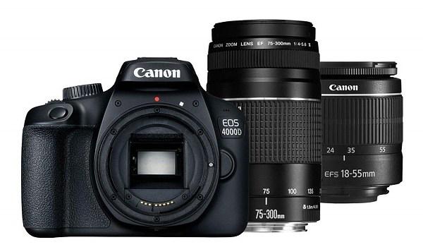 Canon EOS 4000D BK 18-55