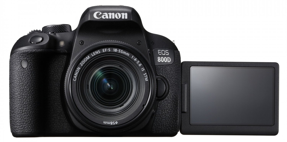 Canon EOS 800D 18-55 mm IS STM Black