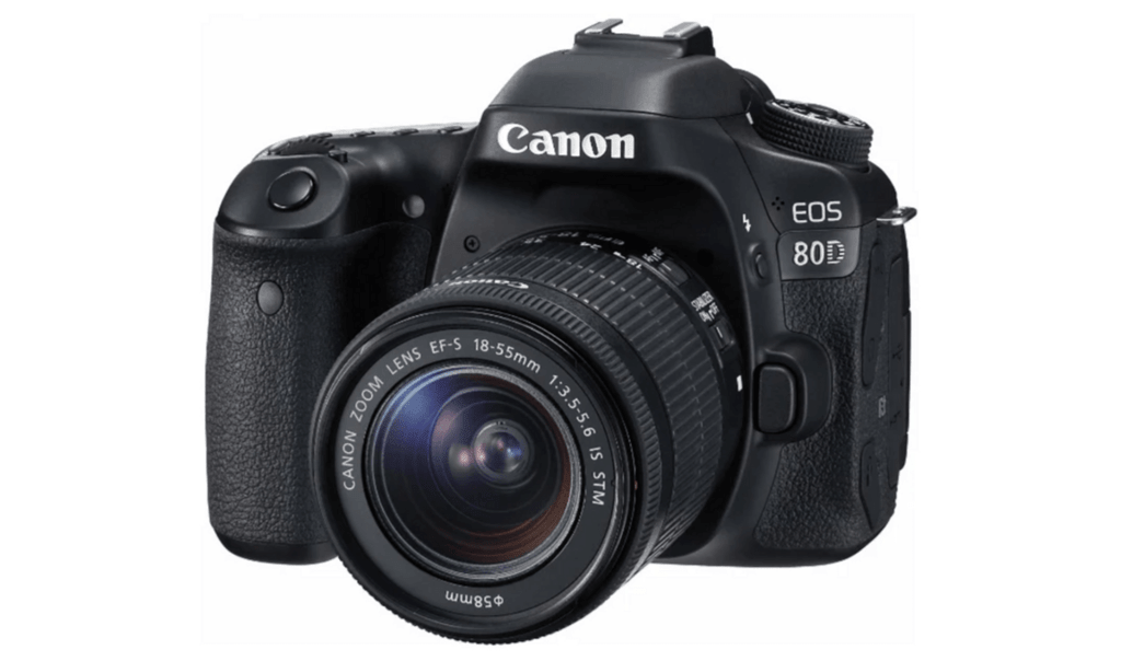Canon EOS 80D EF-S 18-135mm IS Nano USM Kit