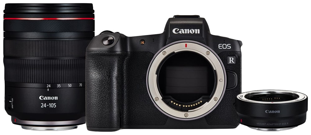 Canon EOS RP RF 24-105 мм F4L IS USM