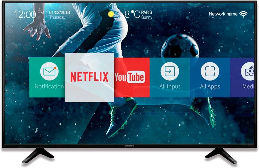 Hisense H43A6100 43 Smart TV