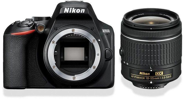 Nikon D3500 + AF-P 18-55 VR Kit