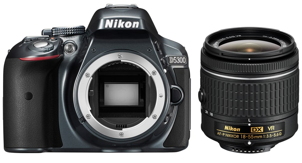 Nikon D5300 + AF-P 18-55 mm Back Kit