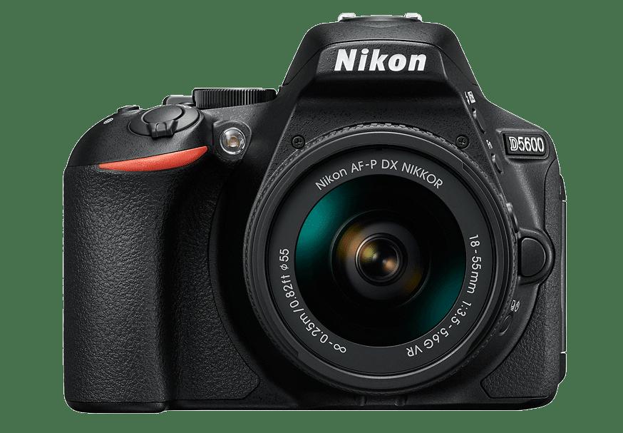 Nikon D5600 AF-P18-55mm f 3.5-5.6 G VR Black