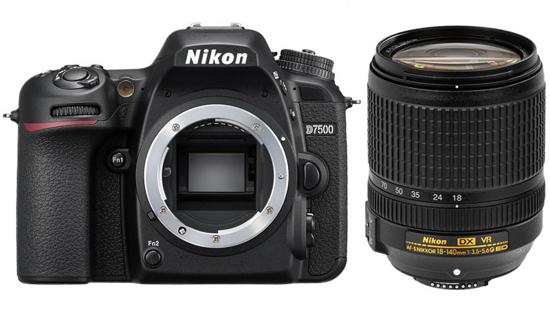 Nikon D7500 AF-S DX Nikkor 18-140mm f3.5-5.6G ED VR Kit